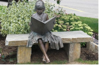 Girl Reading Statuee_Brookgreen Gardens